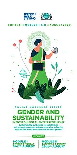 Gender and Sustainability in Environmental Entrepreneurship Brochure