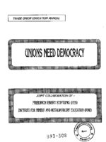 Unions need democracy